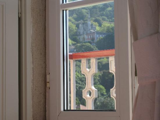 Casa Miradouro: vista desde la cama