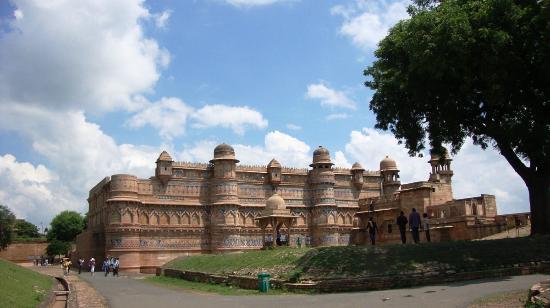 Gwalior, Inde : Man Singh Palace