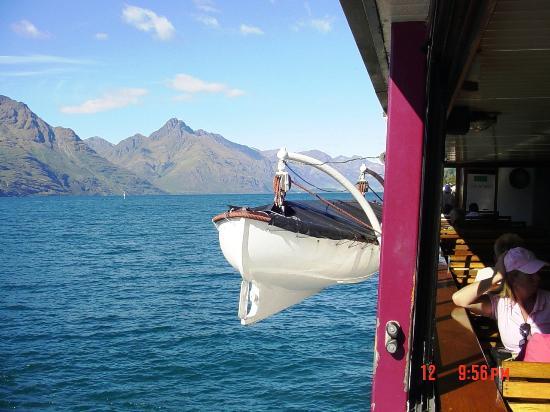 Lake Wakatipu: On board TSS Earnslaw