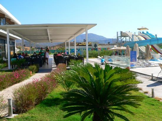 Jiva Beach Resort: Speisesaal