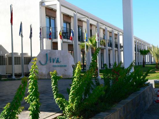 Jiva Beach Resort: Hotel-Eingang