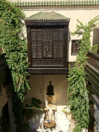 Riad Dixneuf La Ksour : view from room to courtyard