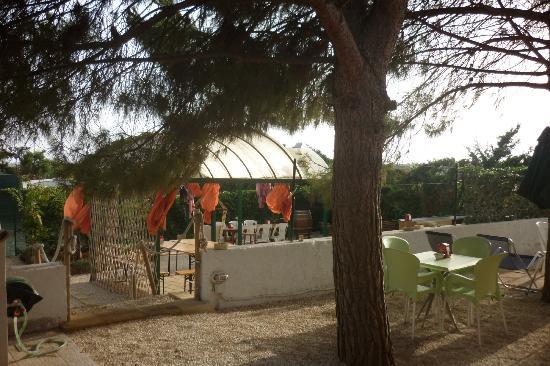 Sanvitosleep : il giardino dove bere una birra in compagnia