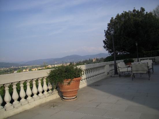 ヴィラ ラ ヴェデッタ フィレンツェ , Veranda