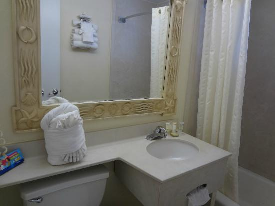 Roomba Inn & Suites: Bathroom 2