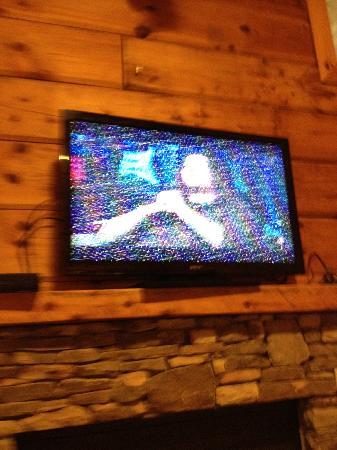 Echota Resort: tv in living room