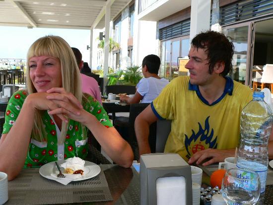 Jiva Beach Resort : Im Speisebereich