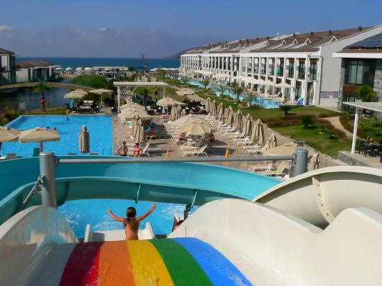 Jiva Beach Resort: Hotel-Anlage
