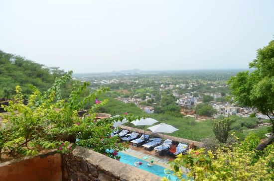 Flying Fox Neemrana: View from Neemrana Fort