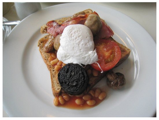 The Reading Rooms : Norfolk Breakfast