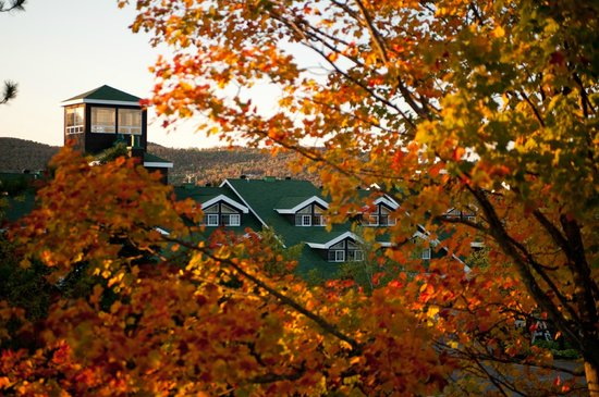 Manoir Saint-Sauveur : Fall colours