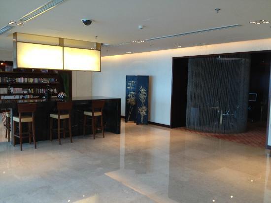 Renaissance Shanghai Zhongshan Park Hotel: Lounge's upper floor