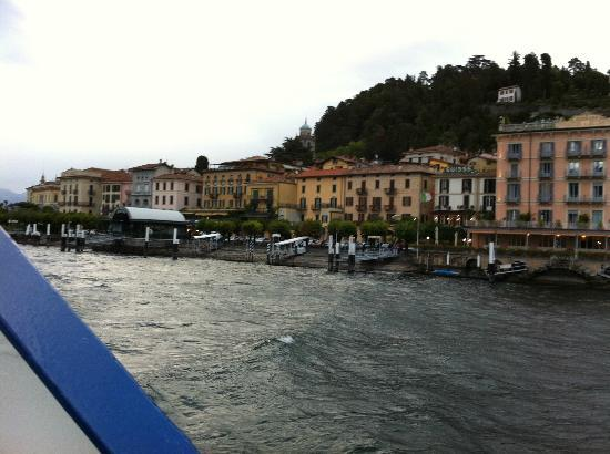 Hotel du Lac from water taxi