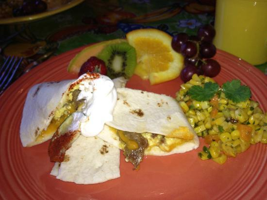 El Paradero Bed and Breakfast Inn: Delicious breakfast!