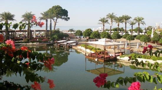 Rixos Premium Belek: boating lake