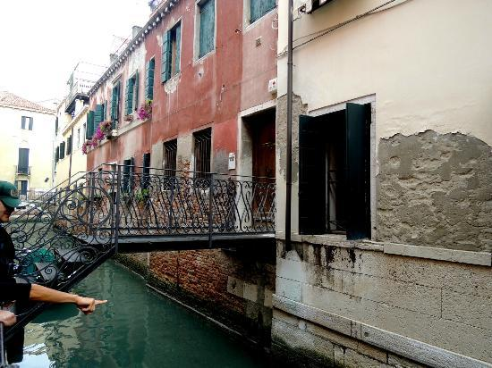 Venice 2000: A watery entrance to a private home