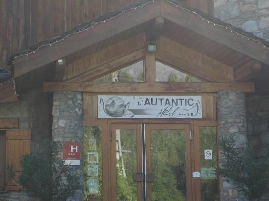 Hotel Autantic : von vorne