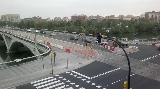 NH Ciudad de Zaragoza: Vista desde la habitación