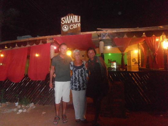SWAHILI cafe: con mama Danny al Swahili cafè