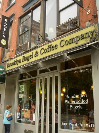 Brooklyn Bagel & Coffee Company : Nice place!