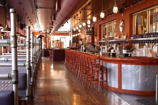 Bethlehem Brew Works: The main bar