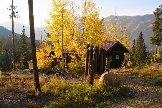 Shadowcliff Lodge: Aspens at Overlook cabin
