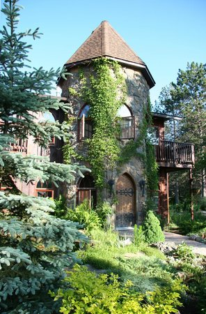 Grail Springs Retreat: Turret Entrance