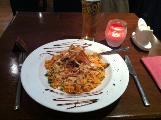 Viva Italian : The seafood risotto