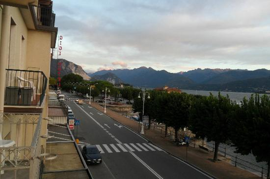 Albergo Sempione: The view from my balcony