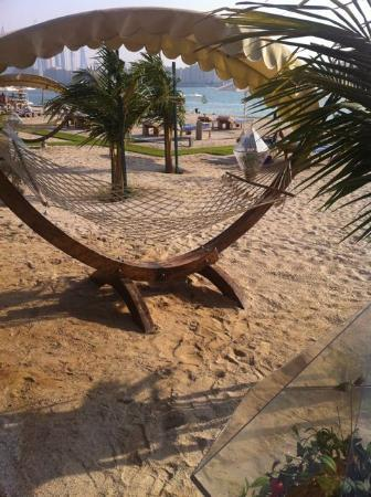 Rixos The Palm Dubai: col hammocks