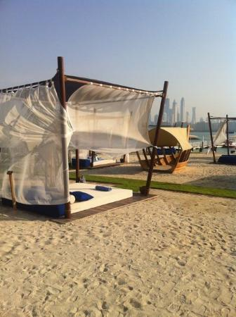 Rixos The Palm Dubai: great sun loungers