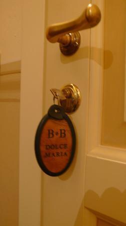 Dolce Maria: La chiave della stanza