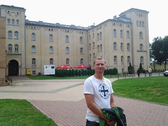 Dom Muzyka: the yard, tranquility in the center of Gdansk