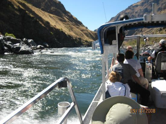 Killgore Adventures Hells Canyon Jet Boat Trips & Fishing Trips: Loved it!