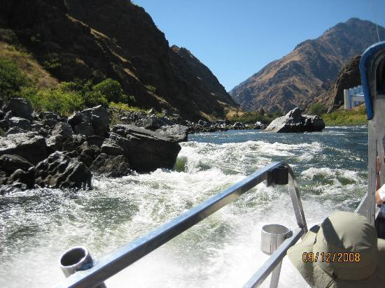 Killgore Adventures Hells Canyon Jet Boat Trips & Fishing Trips: Rapids