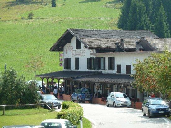 Castello Tesino, Italia: Vista del ristorante