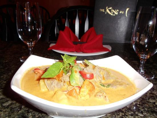 The King and I: pumpkin curry