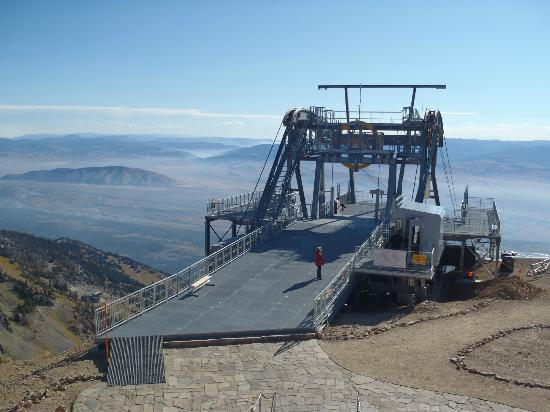 Jackson Hole Aerial Tram: The summit station
