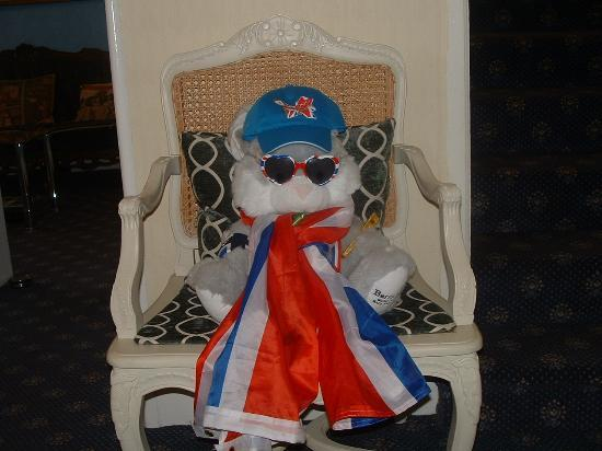 White Lodge Hotel: White Lodge Olympic mascot