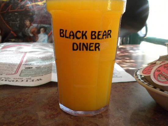 A Hand Made Wooden Sign - Picture of Black Bear Diner ... - photo#35