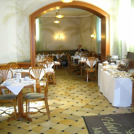 Krone Hotel: Sale colazione 