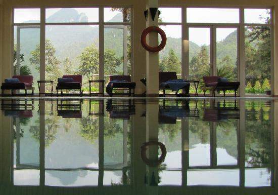 Victoria Sapa Resort and Spa: A pool with a view