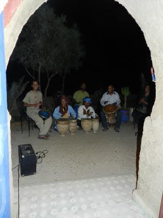 Kasbah Hotel Panorama: Musica berbera
