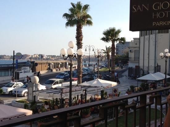 Hotel San Giovanni: Vista dal balcone della camera!