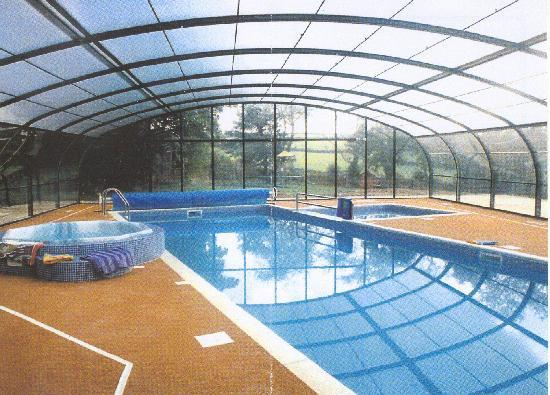 Bocaddon Farm: indoor heated pool & hot tub
