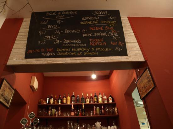 Babiccina Zahradka: Bar