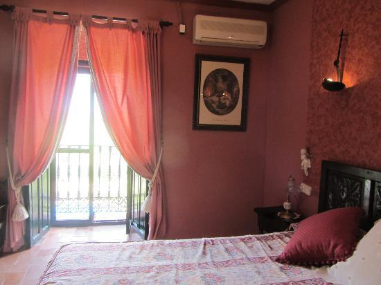 Hacienda El Santiscal: Room