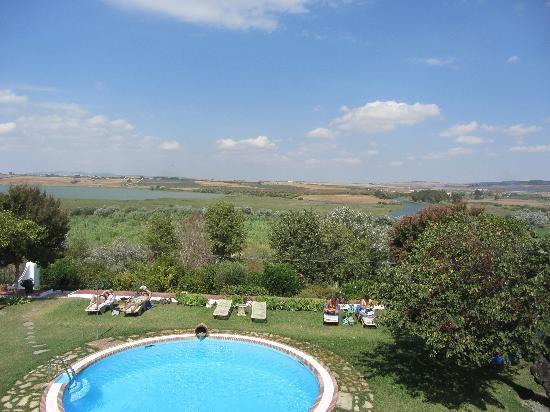 Hacienda El Santiscal: View from room