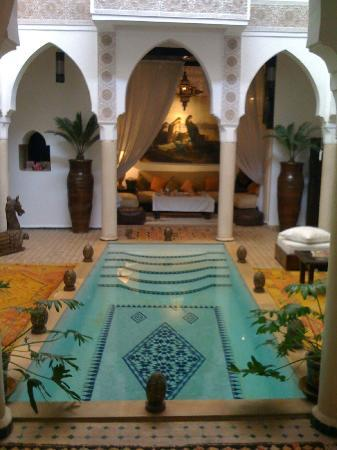 Riad Andalouse: patio