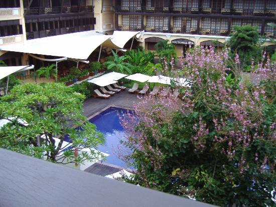 Victoria Angkor Resort & Spa: view from room
